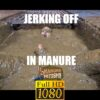 jerking off in manure full hd